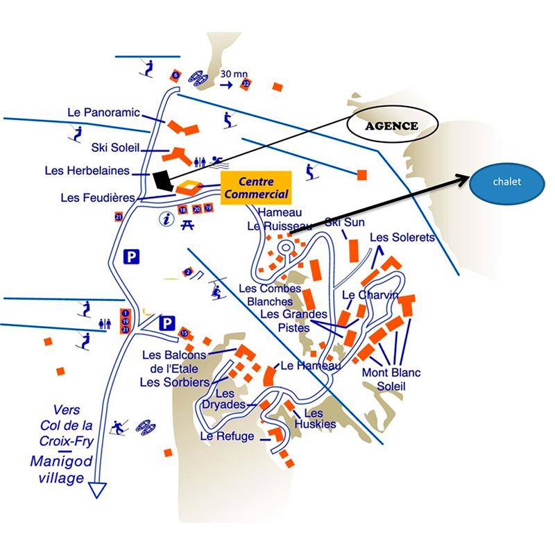Plan Agence, Les Herbelaines, Chalet