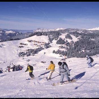Ski Hiver Manigod La Clusaz