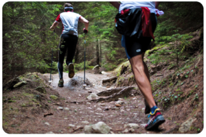 Trail à manigod